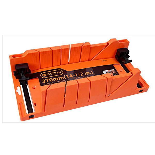 TACTIX 269001 Φαλτσοκούτι με σφιγκτήρες (370mm)