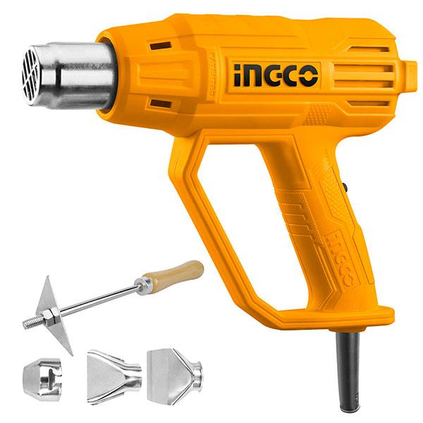 INGCO HG200038 Πιστόλι θερμού αέρα με εξαρτήματα