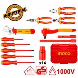 INGCO HKITH2601 Σειρά εργαλείων ηλεκτρολόγων 1000V 26 τεμ