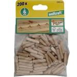 WOLFCRAFT 2905000 Καβίλιες Ø 6 (200τεμ)