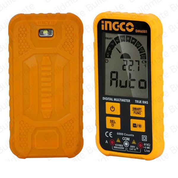 INGCO DM6001 Ηλεκτρονικό πολύμετρο