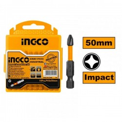 INGCO SDBIM11PH233 Μύτες PH2 x 50mm IMPACT (10τμχ)