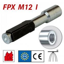 FISCHER FPX M12 I Βύσμα για πορομπετόν (519024)