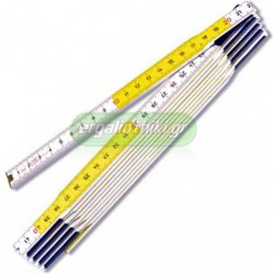 STANLEY 0-35-458 Μέτρο ξύλινο σπαστό 2m