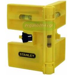 STANLEY 0-47-720 Μαγνητικό αλφάδι στύλων με 3 μάτια