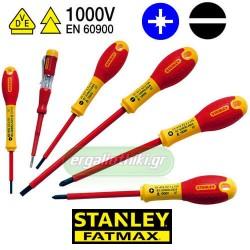 STANLEY 0-65-443  Σειρά κατσαβίδια FatMax® με μόνωση 1000V