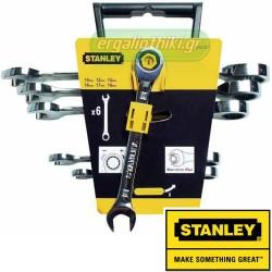 STANLEY 4-89-907 Σειρά κλειδιά Γερμανοπολύγωνα με καστάνια Maxi Drive Plus
