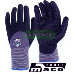 MACO MC.04100 MAXI PLUS Γάντια νιτριλίου - micro foam