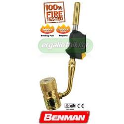 BENMAN TOOLS 70308 Φλόγιστρο μπέκ με ανάφλεξη φιάλης Mapp