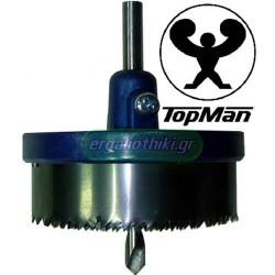 TOPMAN 2072-020 Ποτηροτρύπανο ξύλου Φ25-63mm βάθος 20mm