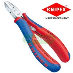 KNIPEX 7702115 Πλαγιοκόπτης 120mm ηλεκτρονικών