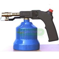 IDEALGAS Φλόγιστρο αερίου μεταλλικό με ηλεκτρονική ανάφλεξη