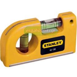 STANLEY 0-42-130 Αλφάδι τσέπης μαγνητικό