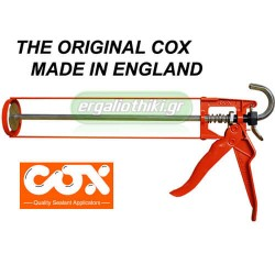 COX HKS 12 Πιστόλι σιλικόνης Αγγλίας φισιγγίων 310ml