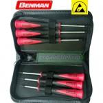 BENMAN TOOLS 70481 Σειρά κατσαβίδια ακρίβειας ESD Torx