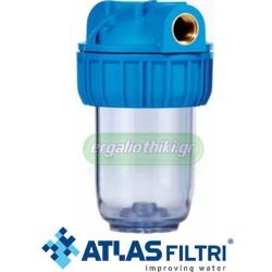 """ATLAS Νο1 Medium 3P Φίλτρο νερού δικτύου 1/2"""""""