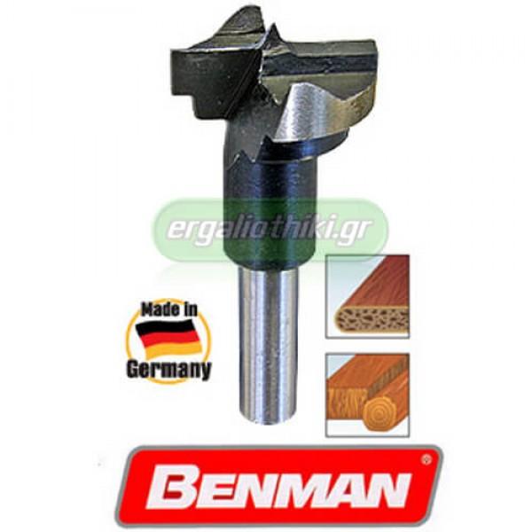 BENMAN TOOLS 74356 Τρυπάνι ξύλου (αυτόματου μεντεσέ) Φ26