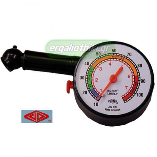 JIN DAI JD-3206C Μετρητής πίεσης ρολόι