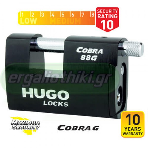 HUGO LOCKS COBRA 88G 60148 Λουκέτο