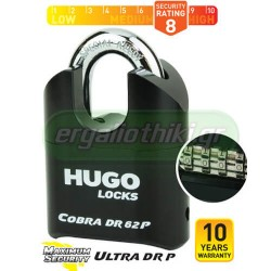 HUGO LOCKS COBRA ULTRA DR 62 P 60125 Λουκέτο