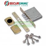 SECUREMME 2020 Πρόσθετη κλειδαριά τρίαινα με 5 κλειδιά