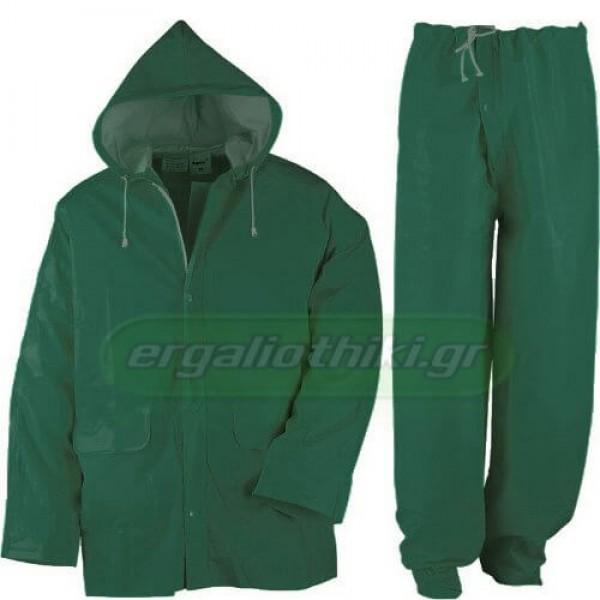 KAPRIOL RAIN Αδιάβροχο ( νιτσεράδα ) σακάκι - παντελόνι πράσινο