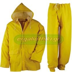 KAPRIOL RAIN Αδιάβροχο (νιτσεράδα) σακάκι - παντελόνι κίτρινο