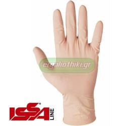 Γάντια μιας χρήσης απο φυσικό LATEX Art. 07248 (100 τεμαχια)