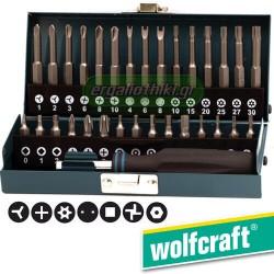 WOLFCRAFT 1386 000 Σειρά μύτες ηλεκτρικών συσκευών (31 τεμάχια)