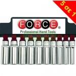 """FORCE TOOLS 41014Q Σειρά καρυδάκια 1/2"""""""