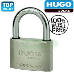 HUGO LOCKS 60129 MARINE 60 Λουκέτο για ναυτική χρήση