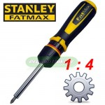 STANLEY 0-69-236 Κατσαβίδι καστάνιας FatMax® Hi Speed 1 : 4