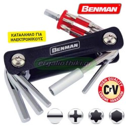 BENMAN TOOLS 70866 Σειρά κλειδιά 20 σε 1