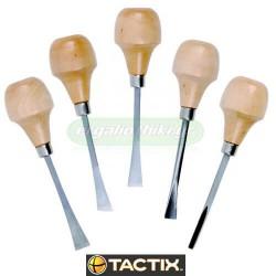 TACTIX 545285 Σειρά σκαρπέλα ξυλογλυπτικής