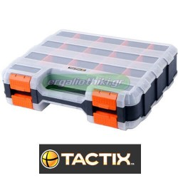 TACTIX 320028 Ταμπακιέρα διπλή 30 θέσεων