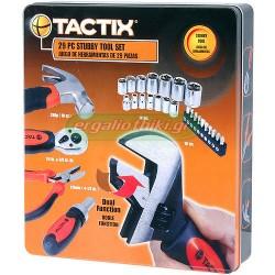 "TACTIX 900053 Σειρά καρυδάκια με καστάνια 1/4"" και 3/8"""