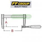 FFGROUP Σφικτήρες μαραγκών βαρέως τύπου (επιλέγετε μέγεθος)