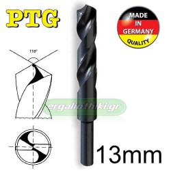 PTG Τρυπάνια τορνιρισμένα HSS DIN338 (επιλέγετε μέγεθος)