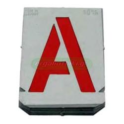 Στένσιλ γράμματα Ελληνικής αλφαβήτου Γερμανίας (επιλέγετε μέγεθος)