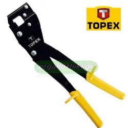 TOPEX 43E100 Πρέσα - καρφωτικό πονταρίσματος λαμαρίνας