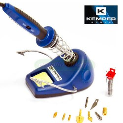 KEMPER 1500 KIT Κολλητήρι - πυρογράφος με βάση