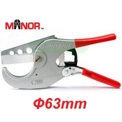 MANOR PE-60 Κόφτης πλαστικού σωλήνα εως Φ 63mm