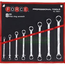 FORCE TOOLS 50821 Σειρά κλειδιά πολύγωνα ίσια