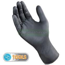 PG tools Art.506 Γάντια νιτριλίου μαύρα