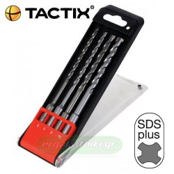 TACTIX 410953 Σειρά διαμαντοτρύπανα SDS plus