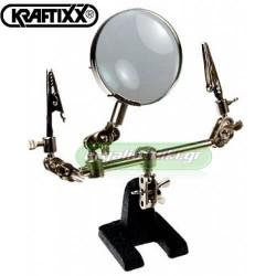 KRAFTIXX 952890 Μεγεθυντικός φακός με βάση