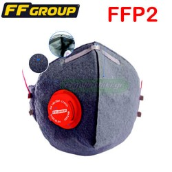 FFGROUP 36458 Μάσκα ηλεκτροκολλήσεων ενεργού άνθρακα