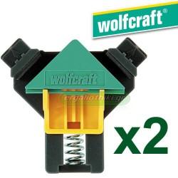 WOLFCRAFT 3051 000 Σφιγκτήρας γωνιακός ES 22 (2 τεμάχια)