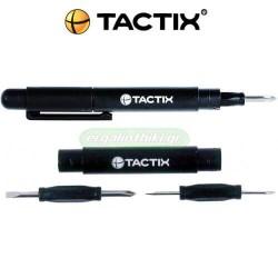 TACTIX 545239 Κατσαβίδι micro 4 σε 1