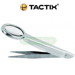 TACTIX 545007 Μεγεθυντικός φακός με τσιμπιδάκι